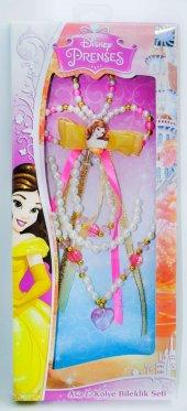 Disney Prenses Belle Asa Kolye Bileklik Seti