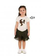 Zekids Kız Çocuk Resimli Bluz