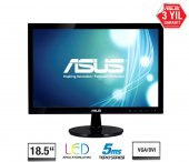 18,5 Asus Vs197de Led 1366x768 5ms 3yıl Vga Vesa