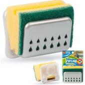 Vantuzlu Bulaşık Süngeri Askısı Sponge Hanger Asorti