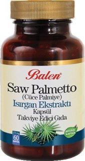 Saw Palmetto (Cüce Palmiye), Isırgan Ekstraktı Kapsül