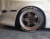 Yeni Ürün Orjinal Nitto 3d Lastik Yazısı Tire Stic...