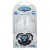 Babytime Damaklı Siyah Emzik N.2 6 18 Ay