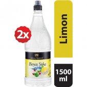 Kemal Kükrer Limon Aromalı Beyaz Sirke (1500 Ml X 2 Adet)