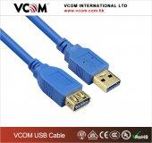 Vcom Cu302 1.8mt Şeffaf Usb 3.0 Uzatma Kablosu Mav