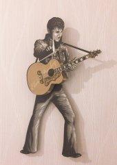 Elvis Presley Sallanır Sarkaçlı Duvar Saati