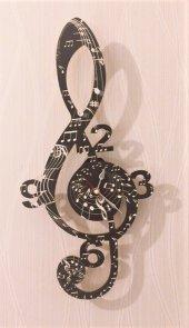 Sol Anahtarı Dekoratif Duvar Saati