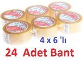 Ecotape Koli Bandi Seffaf 45mmx100mt (4x6lı 24 Ade...