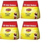 Lipton Yellow Label Demlik Poşet Çay 120li X 4 Ade...