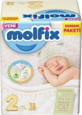Molfix Deneme Paketi Bebek Bezi Mini 2 Numara 3 6 ...
