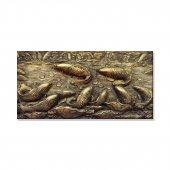 Balıklar Kanvas Tablosu 100 Cm X 200 Cm