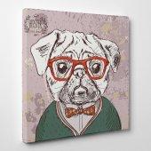 Hipster Kare Kanvas Tablo 50 Cm X 50 Cm