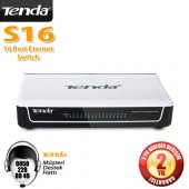 Tenda S16 16 Port 10 100 Swıtch