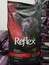 Reflex Plus + Kuzulu Pirinçli Yetişkin Köpek Maması 15 Kg