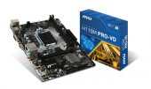 Msı Intel H110m Pro Vd Plus 1151 Ddr4 2133mhz Dvı