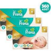 Prima Bebek Bezi Premium Care Dev Ekonomi Paketi 5 Beden 3 Adet