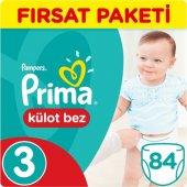 Prima Külot Bebek Bezi 3 Beden 84 Adet Midi Fırsat Paketi