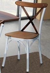 Marion Metal Ayaklı Mutfak Salon Cafe Bahçe Sandalyesi