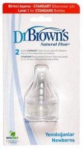 Dr. Browns 1.aşama Dar Ağız Biberon Emziği (2 Adet...