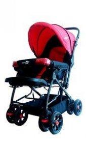 Comfymax Çift Yönlü Bebek Arabası Kırmızı