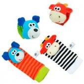 Sozzy Toys Çıngıraklı Çorap Ve Bileklik Seti Szy11...