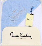 Pierre Cardin Kundak Banyo Havlusu 75x75 Cm Mavi Y...