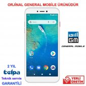 General Mobıle Gm 9 Go Dual Silver (General Mobile...