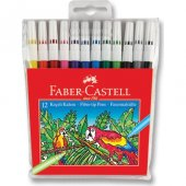 Faber Castell Keçeli Kalem12' Li Poşet