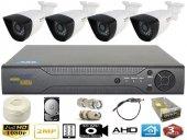 4 Kameralı Güvenlik Seti
