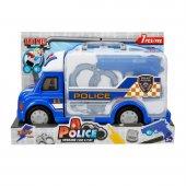 Oyuncak Polis Aracı Seti Sesli Ve Işıklı Çantalı
