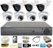 8 Kameralı Güvenlik Seti