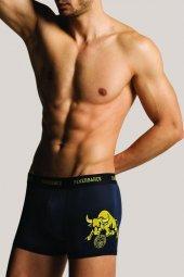 Fenerbahçe Lisanslı Orjinal Taraftar Likralı Erkek Boxer (1328)