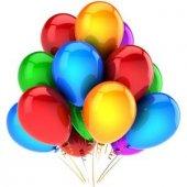 Metalik Karışık Balon 100lü