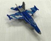 F16 Askeri Mavi Savaş Uçağı Oyuncak Peluşcu Baba Pb 89720 16