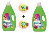 Rinso Sıvı Çamaşır Deterjanı Capcanlı Renkler 3lt. X 2 Adet
