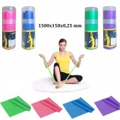 Pilates Bandı Pilates Bantı Egzersiz Lastiği Pvc Tüp Yoga Bant