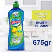 Bingo Elde Bulaşık Deterjanı Dalından Limon 675 Gr