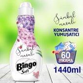 Bingo Soft Konsantre Çamaşır Yumuşatıcısı Sümbül Masalı 1440 Ml