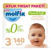 Molfix Pure&soft 3 Beden Midi Aylık Fırsat Paketi ...