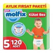 Molfix Külot Bez 5 Beden Junior Aylık Fırsat Paket...