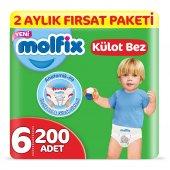 Molfix Külot Bez 6 Beden Ekstra Large 2 Aylık Fırs...