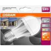 Osram Led Hareket Sensörlü 9w Sarı Işık Ampul...