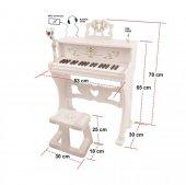 Wonderful 37 Tuşlu Büyük Piyano Beyaz