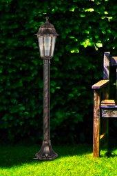 Modelight Optik Altıgen Çim Direği (1 Mt) Bakır Mdl.3027