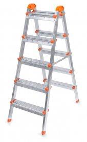 Doğrular Çift Çıkışlı 5+5 Basamak Merdiven