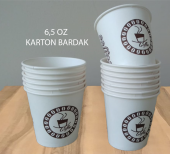 Karton Bardak 6,5 Oz 1000 Adet Akıtmaz Ofis Bardağı