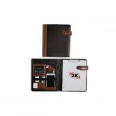 2k Kapaklı Sekreterlik Suni Deri + Hesap Makinalı A4 Kahverengi 9