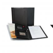2k Kapaklı Sekreterlik Suni Deri + Hesap Makinalı A4 Kahverengi 5