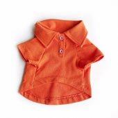 Orange Polo Yaka Tişört By Kemique Köpek Kıyafeti Köpek Elbise