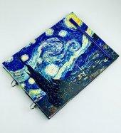 özel Tasarım Van Gogh Yıldızlı Geceler Fotoğraf Albümü